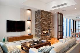 How To Decorate A Stone by How To Decorate A Living Room Wall Around A Widescreen Tv Home