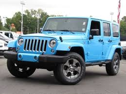 blue jeep 2017 jeep wrangler unlimited in raleigh nc leith cars