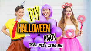 diy halloween party games costume ideas u0026 treats youtube