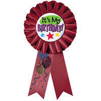 birthday ribbon award ribbons birthday buttons party city