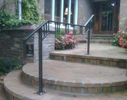 comely outdoor stair railing ideas outdoor stair railing ideas