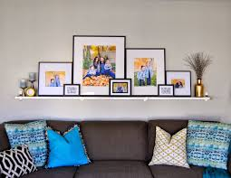 black white and gold gallery wall diy gold feather art pb hack i