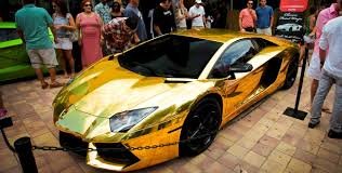 lamborghini car gold my dream car a gold plated lamborghini pics