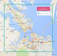 Map Of Norfolk Virginia by Using Lyft In Virginia Beach Norfolk How To Get A Free Ride