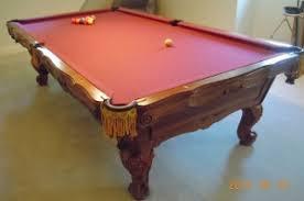 brunswick slate pool table pool table chicago used slate pool tables chicago