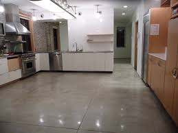 Concrete Kitchen Design Avant Design Polished Concrete Floors Nyc