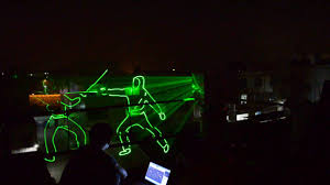 laser light show near me diy 5watt green laser light outdoor animation show projector