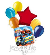 birthday balloons for men blaze the machines happy birthday balloon bouquet