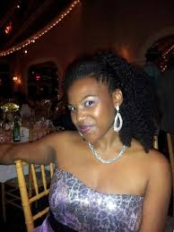 braids in front hair in back hollycheyenne23 braided sides twist out back blowdried and flat