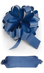 10 royal blue sapphire pull bows 5 5 inch diameter 20