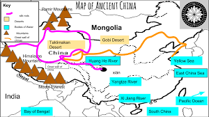 Map Of Great Wall Of China by Ancient China Geography History Of China Ancient Chinese History