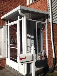 front doors front door enclosures front door security enclosures