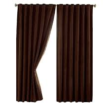 Thermal Curtain Liner Eyelet by Rod Pocket Curtains U0026 Drapes Window Treatments The Home Depot