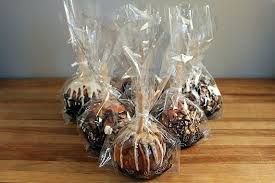candy apple bags make caramel apple gift bags tags