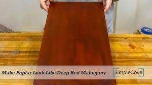 how to poplar look like mahogany finishing 003