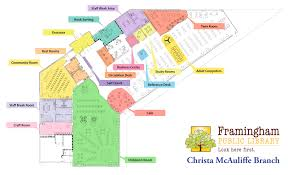 floor plan mcauliffe branch framingham public library