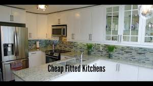 cheap fitted kitchens cheap kitchens for sale youtube