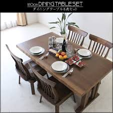 How To Set A Dining Room Table C Style Rakuten Global Market Five Points Of Four New