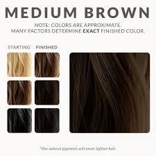 dark brown hair colours