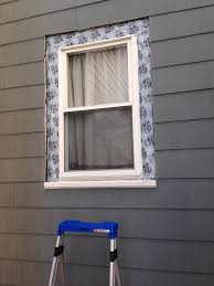 how to replace exterior window trim frugalwoods look at that nicely flashed window