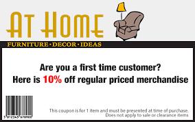 at home furniture coupons