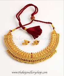 silver necklace set images The mandhitha silver gejje necklace set ko jewellery jpg