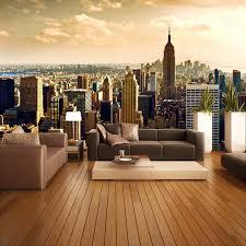 home interior wallpapers custom 3d mural wallpaper roll city views living room sofa