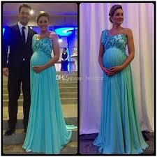 baby shower dress unique design one shoulder chiffon applique vestidos new