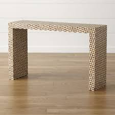 yukon console table crate and barrel