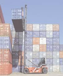 empty container handling lift trucks cvs ferrari s p a