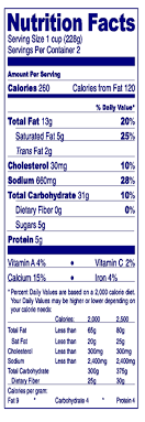 busch light nutrition facts what is considered low sodium on a nutrition panel healthy eating