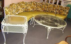 Antique Rod Iron Outdoor Furniture Patio Ideas - Antique patio furniture