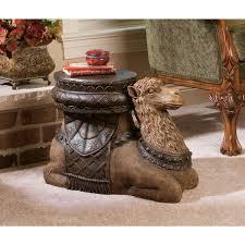 Toscano Home Decor Amazon Com Design Toscano The Kasbah Camel Sculptural End Table