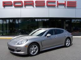 Porsche Panamera Blacked Out - 2010 porsche panamera s in platinum silver with black interior
