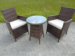 6 seater outdoor dining table new bistro 2 4 6 seater rattan wicker dining outdoor garden
