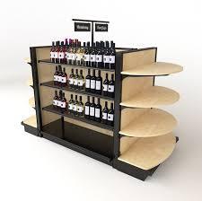 liquor store shelving commercial wine racks dgs retail