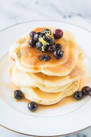 easy lemon blueberry pancakes a peek at the new oxocookware
