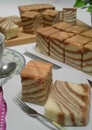 tips membuat bolu zebra 77 resep bolu santan zebra enak dan sederhana cookpad