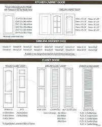 Closet Door Size Chart Standard Plywood Size Chart