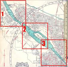 Map Downtown Portland by The Zehnkatzen Times Map Design Pdx History The Willamette