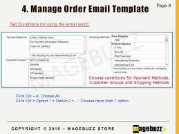 user guide for magento multiple order email magebuzz