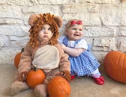 Cowardly Lion Costume Walt U0026 Whitney U0027s First Halloween Costume Dorothy U0026 The Cowardly