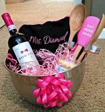 bridal shower wine basket decent image bridal shower gift basket ideas in guests bridal