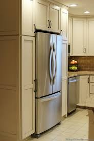 Kitchen Cabinets Refrigerator Surround by Angela Portfolio Archives Village Home Stores