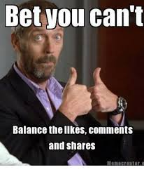 Meme Creators - bet you can t balance the ilkes comments and shares meme creator