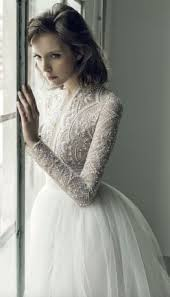 Long Sleeved Wedding Dresses 55 Beautiful Long Sleeve Wedding Dresses Girlyard Com