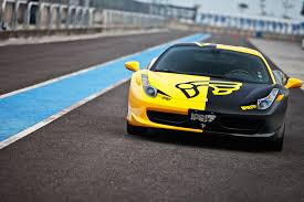 gold and black ferrari innotech performance exhaust ferrari 458 italia spider f1 edition