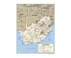 Map Of South India maps of south africa detailed map of republic of south africa in