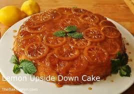 lemon upside down cake recipe thebakingpan com