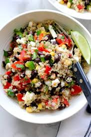 quinoa cuisine southwestern quinoa salad with black beans green valley kitchen
